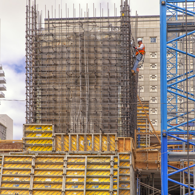 """""""Construction site"""" stock image"""