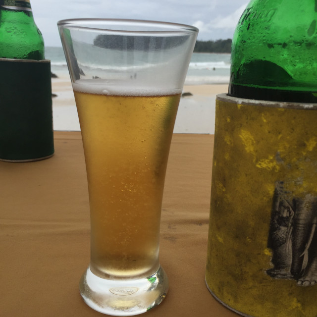 """Beer O'clock"" stock image"