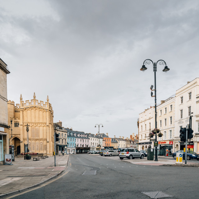 """""""City of Cirencester"""" stock image"""