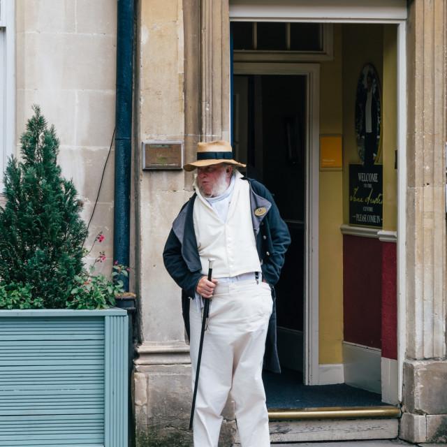 """""""Doorman in historic museum"""" stock image"""