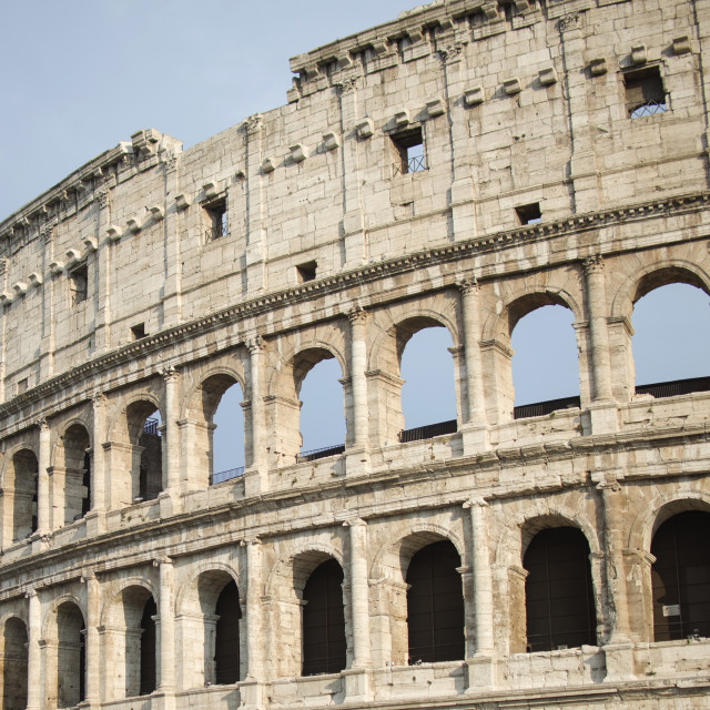 """Colosseum in Rome, Italy"" stock image"