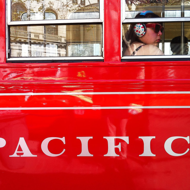 """""""Pacific carriage"""" stock image"""