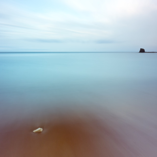 """Saltwick Bay Seascape"" stock image"
