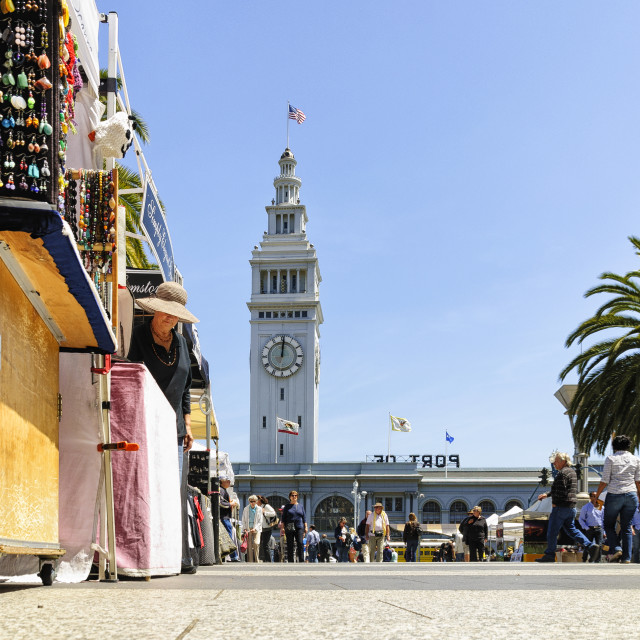 """Ferry Building"" stock image"