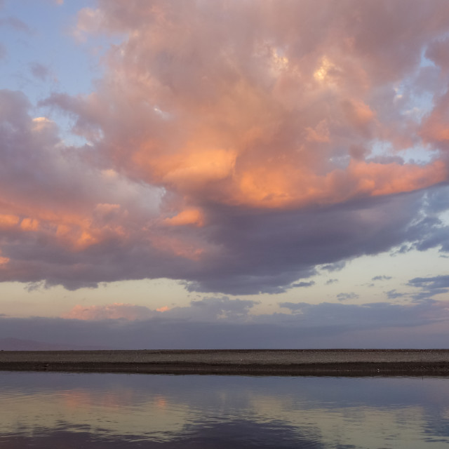 """Dramatic Sunset , Mediterranean sea"" stock image"