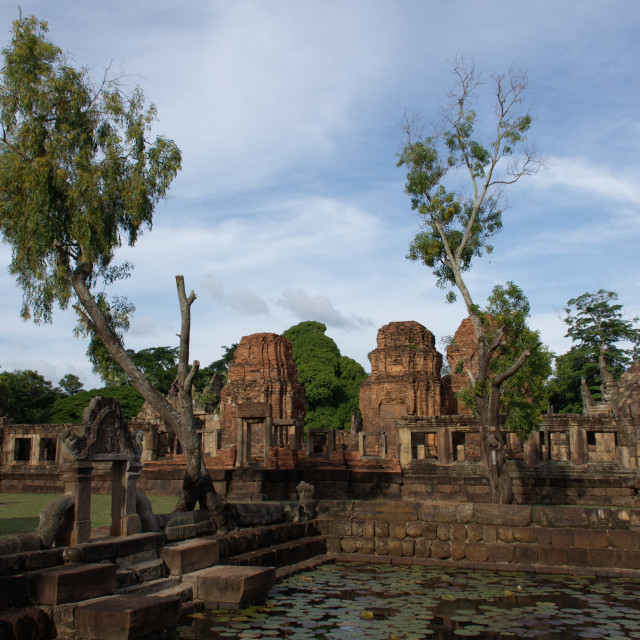 """Prasat Muang Tam Temple"" stock image"
