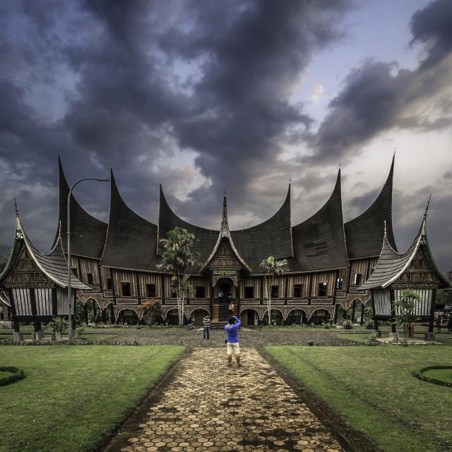 """Istana Pagaruyung"" stock image"