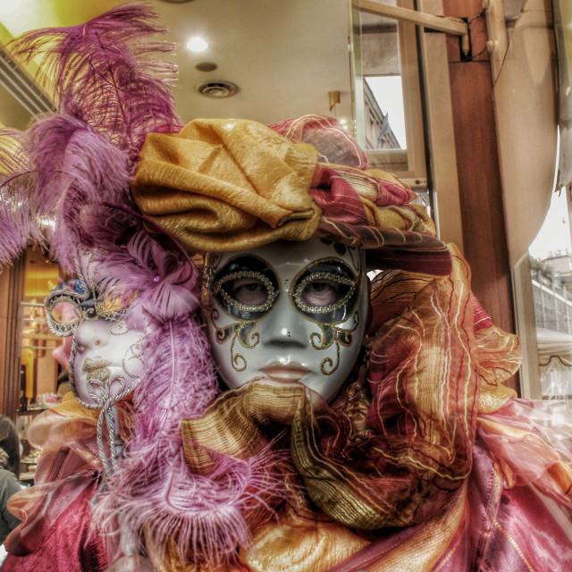 """""""Milan carnival"""" stock image"""