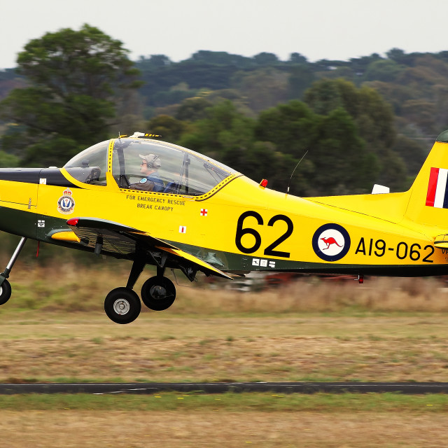 """RAAF Victa CT-4 Airtrainer"" stock image"
