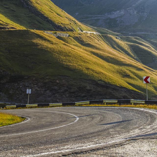"""Transfagarasan Highway"" stock image"