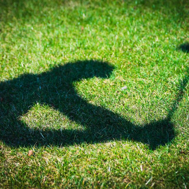 """Golfer"" stock image"