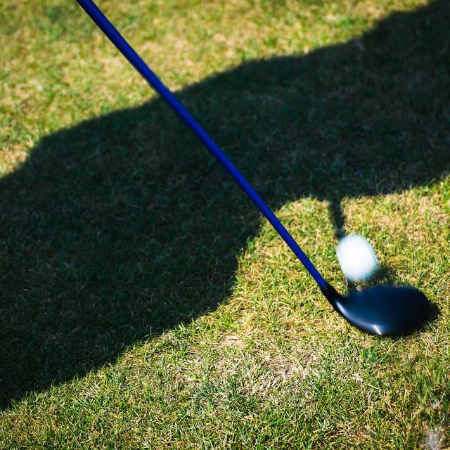 """Golfer 2"" stock image"