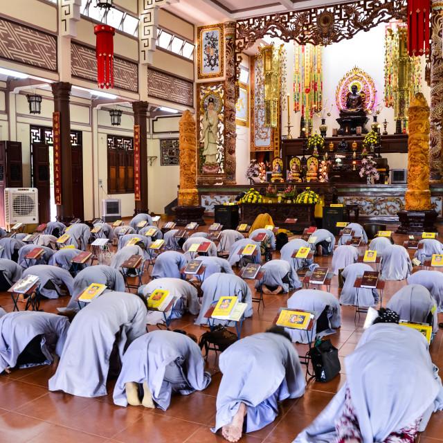 """Buddhists"" stock image"