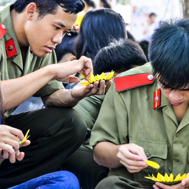 """""""Sunflower Festival"""" stock image"""