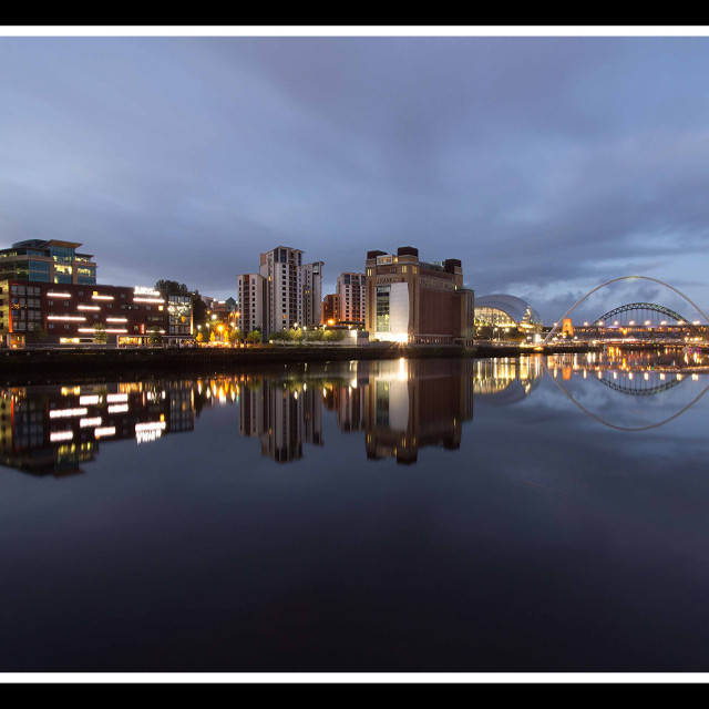 """Gateshead Quays"" stock image"