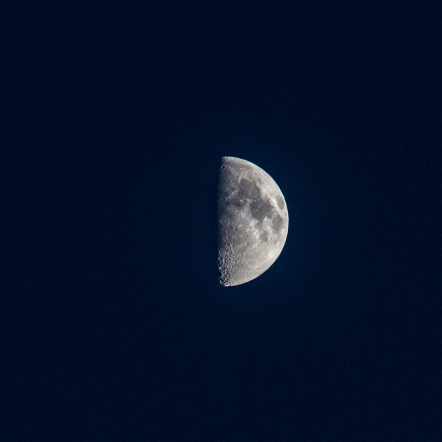 """Half-Moon"" stock image"