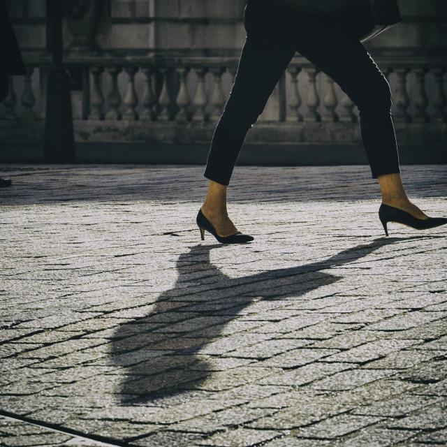 """Urban shadow"" stock image"