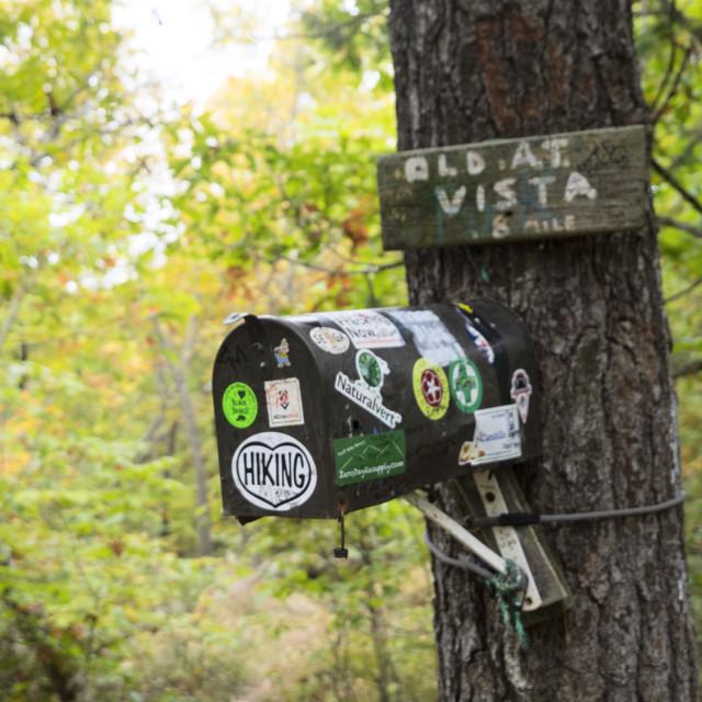 """""""Appalachian Trail Box"""" stock image"""
