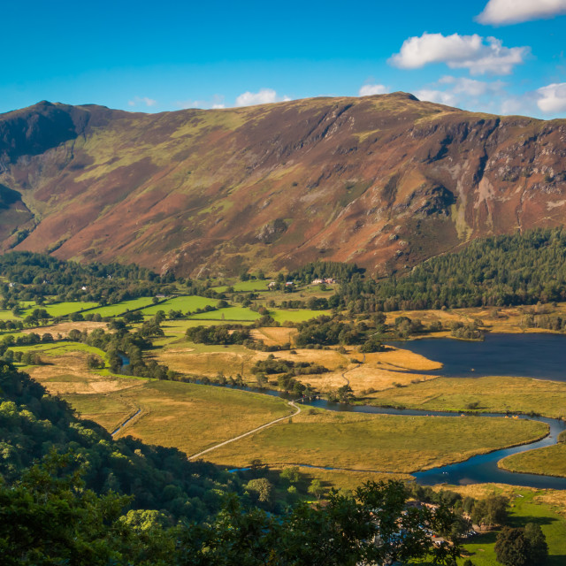 """Catbells from Suprise View"" stock image"