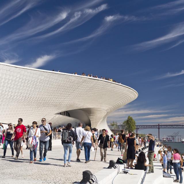 """Lisbon Newest Museum"" stock image"