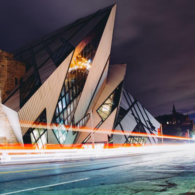 """""""Toronto - Royal Ontario Museum"""" stock image"""