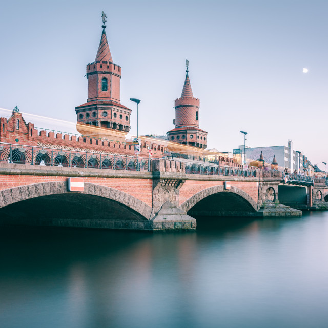 """Oberbaumbrücke | Berlin, Germany 2016"" stock image"