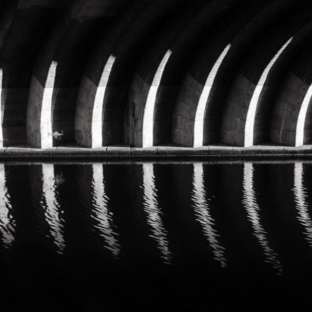 """Lights and Shadows  Berlin, Germany 2016"" stock image"