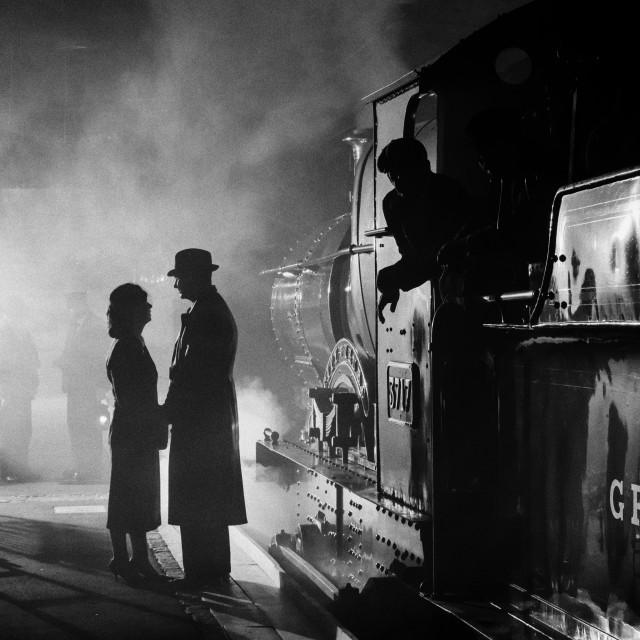"""Brief Encounter Re-visited"" stock image"