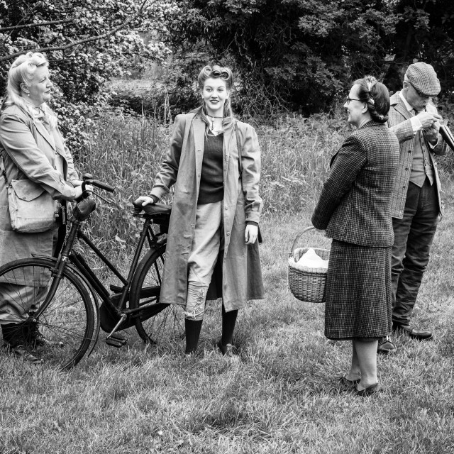 """Land Girls 4"" stock image"