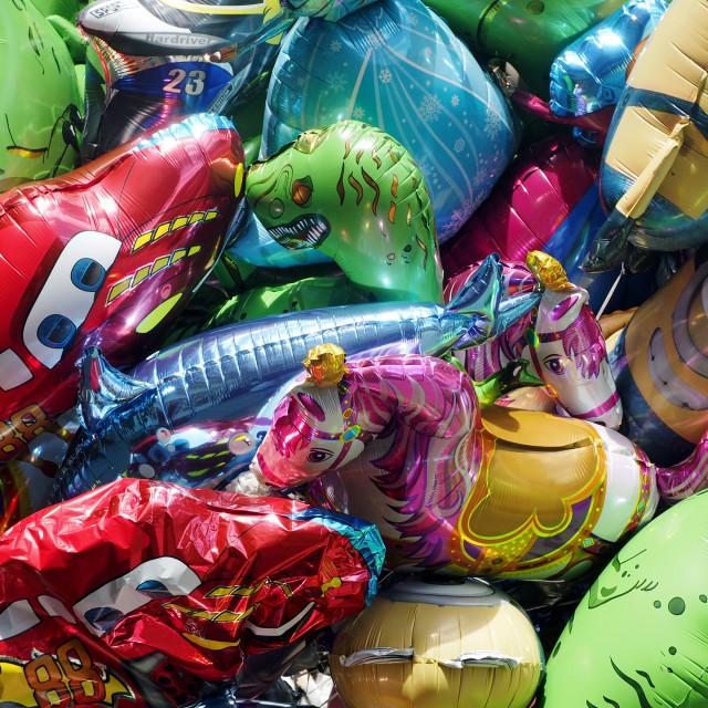 """Balloons 1"" stock image"