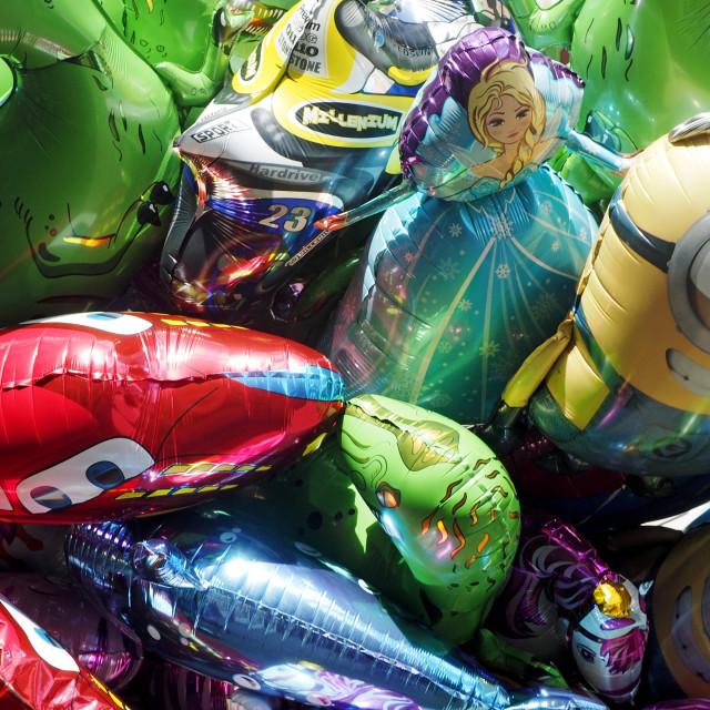 """Balloons 2"" stock image"