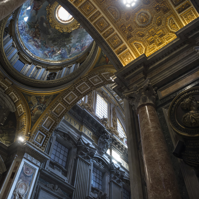 """Basilica of Saint Peter - Rome"" stock image"