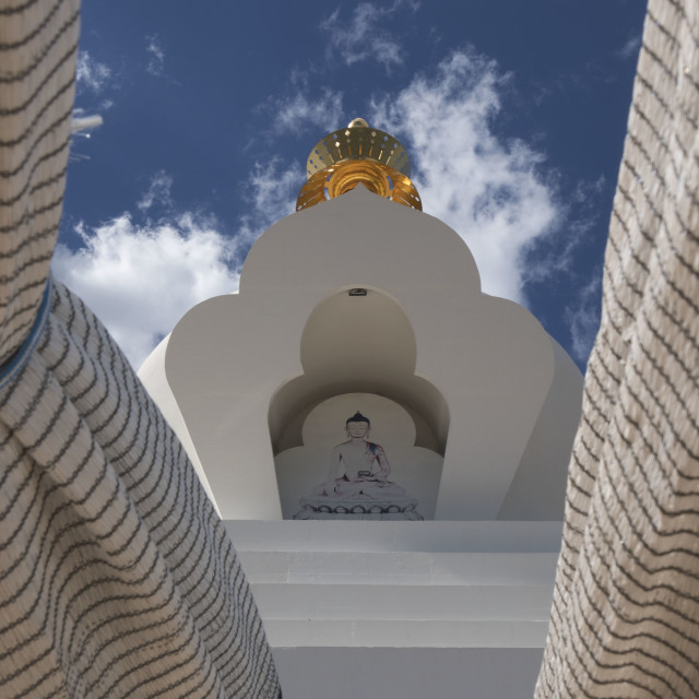 """""""Buddhits Temple"""" stock image"""
