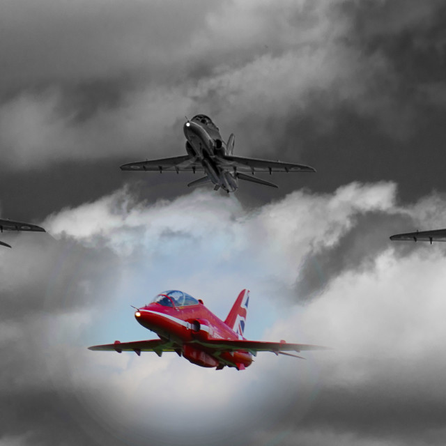 """""""Close Formation"""" stock image"""
