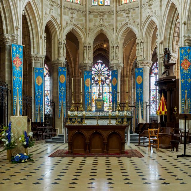 """""""Notre-Dame-de-l'Epine"""" stock image"""