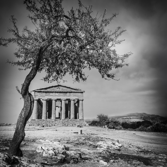 """GREEK TEMPLE"" stock image"