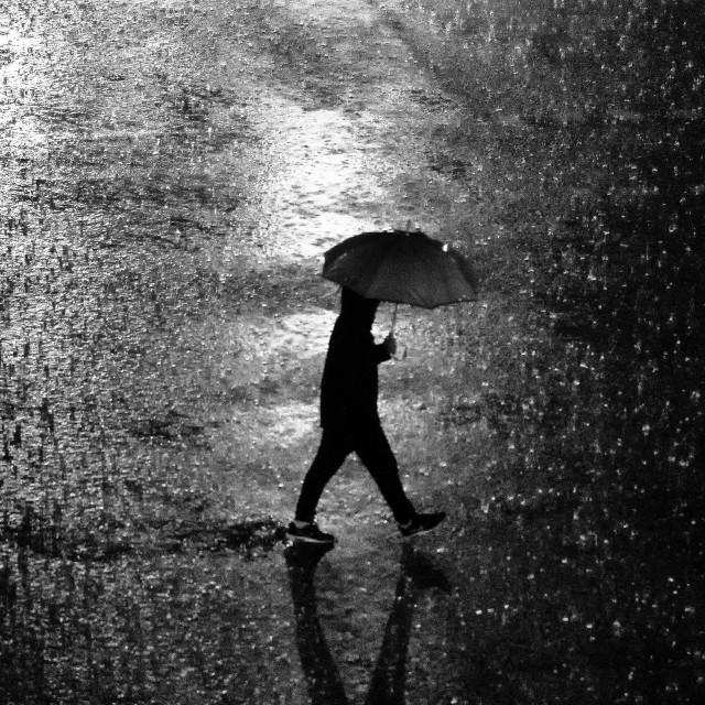 """""""Rain In Spain"""" stock image"""