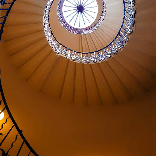 """""""Tulip Staircase"""" stock image"""
