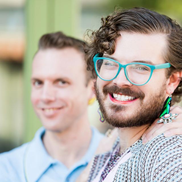 """""""Gender Fluid Young Men"""" stock image"""