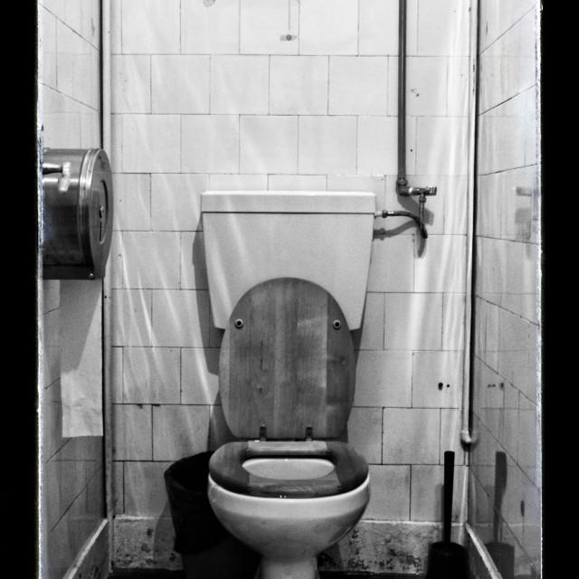 """WC"" stock image"