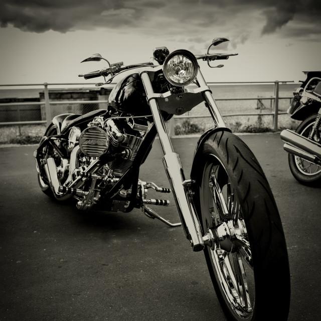 """Custom bike"" stock image"