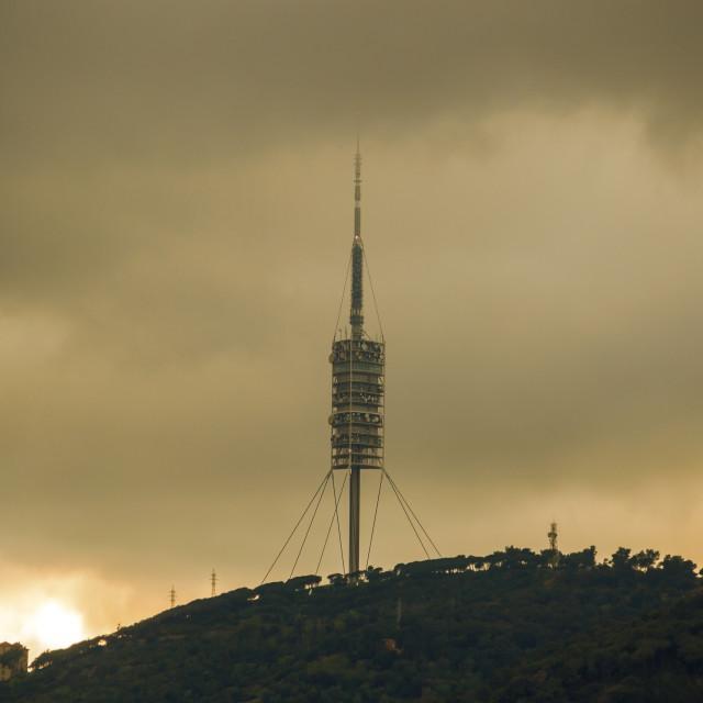 """Telecommunication tower"" stock image"