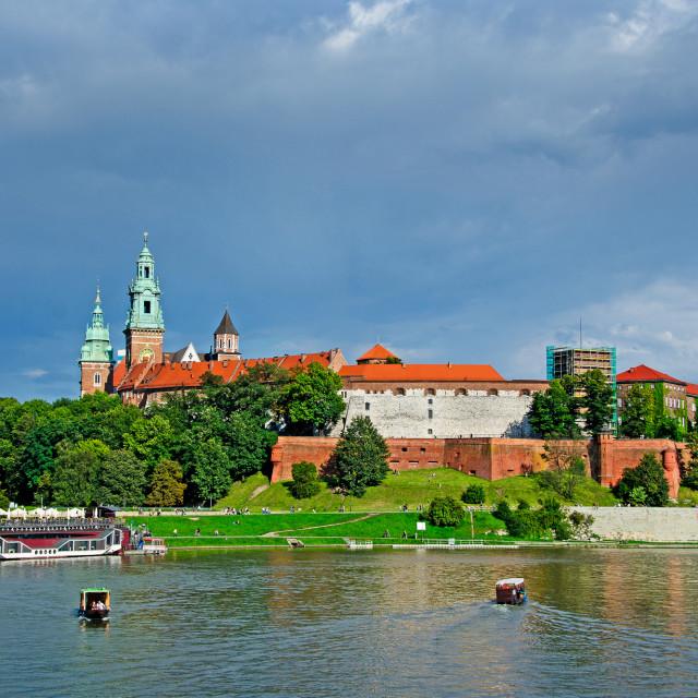 """""""Wawel Castle"""" stock image"""