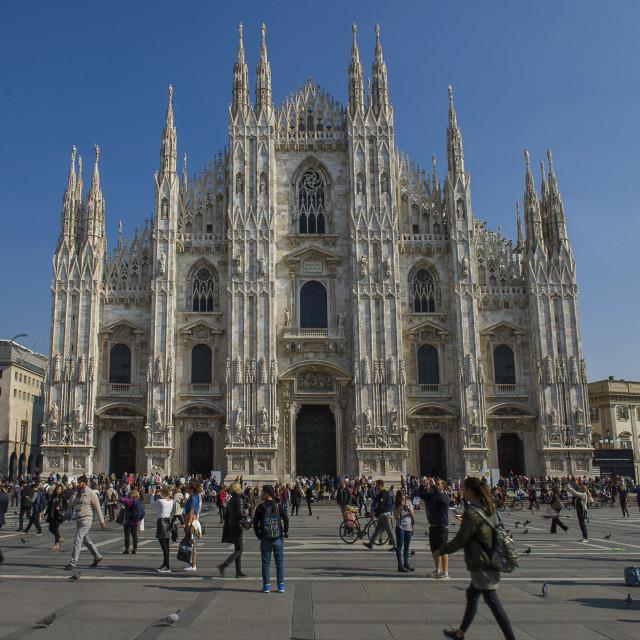 """""""Milan,Duomo."""" stock image"""
