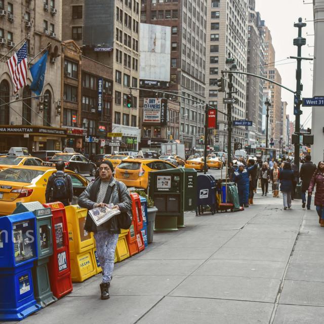 """""""5th Avenue"""" stock image"""