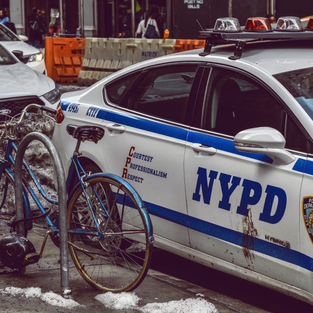 """""""NYPD"""" stock image"""