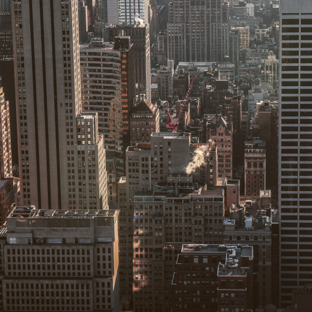 """""""NYC Buildings"""" stock image"""