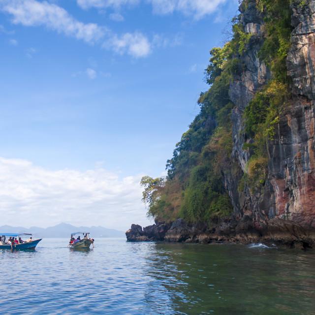 """""""Langkawi boat trip"""" stock image"""