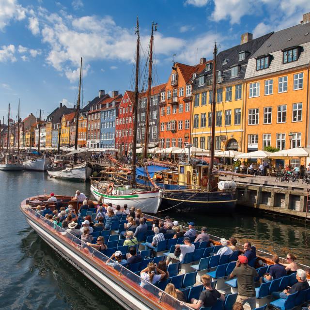 """""""Nyhavn area in Copenhagen"""" stock image"""