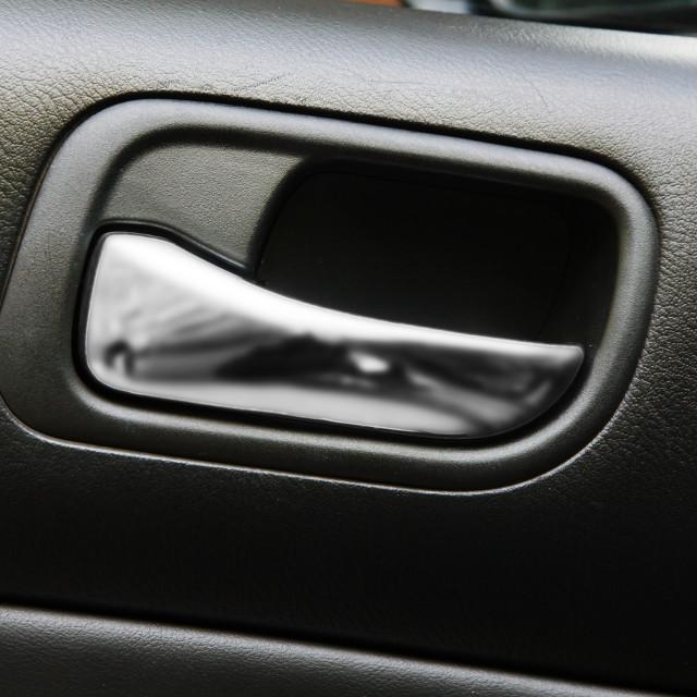 """""""Car door handle"""" stock image"""
